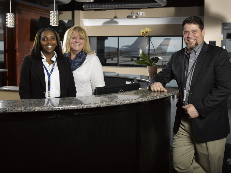 ODYSSEY YIP Front Desk